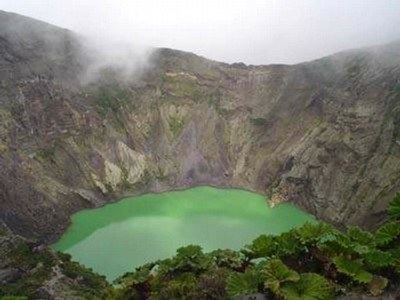 Vulcao Irazu Provincia de Cartago